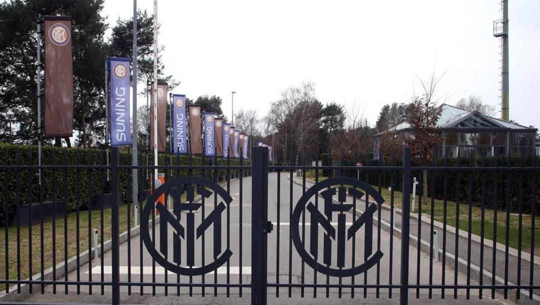 Il centro sportivo dell'Inter. Ansa